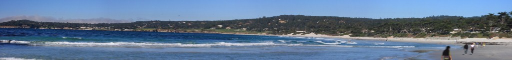 La plage de Carmel